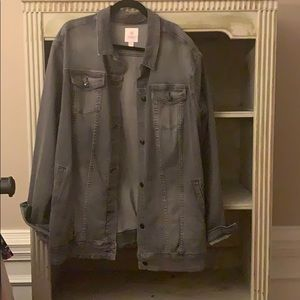 Lularoe Jaxon denim jacket - size 3X